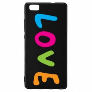 Etui na Huawei P 8 Lite Love, color