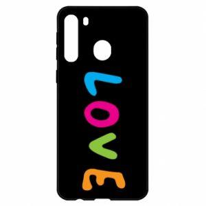 Etui na Samsung A21 Love, color