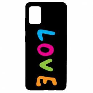 Etui na Samsung A51 Love, color