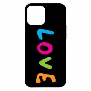 Etui na iPhone 12 Pro Max Love, color