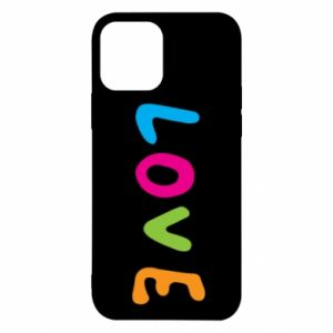 Etui na iPhone 12/12 Pro Love, color