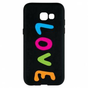 Etui na Samsung A5 2017 Love, color