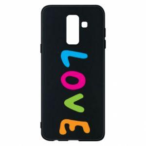 Etui na Samsung A6+ 2018 Love, color