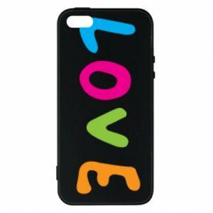 Etui na iPhone 5/5S/SE Love, color