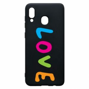 Etui na Samsung A20 Love, color