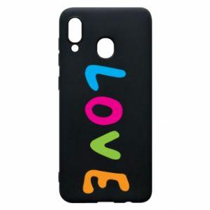 Etui na Samsung A30 Love, color