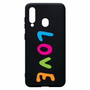 Etui na Samsung A60 Love, color