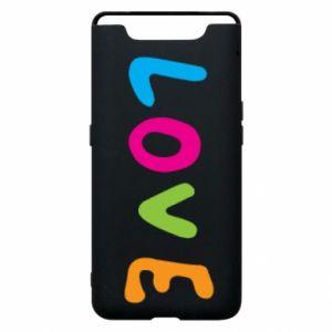 Etui na Samsung A80 Love, color