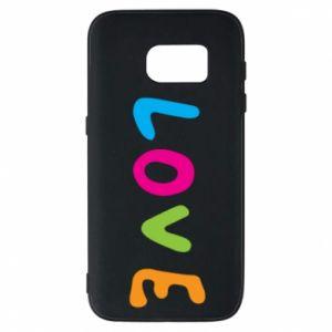 Etui na Samsung S7 Love, color