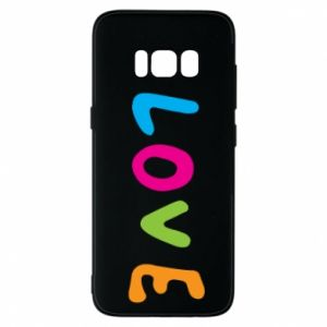 Etui na Samsung S8 Love, color