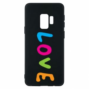 Etui na Samsung S9 Love, color
