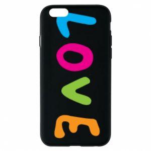 Etui na iPhone 6/6S Love, color