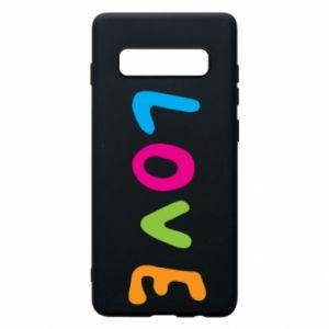 Etui na Samsung S10+ Love, color