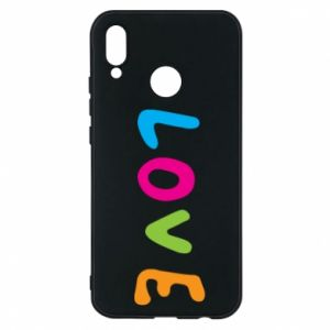 Etui na Huawei P20 Lite Love, color