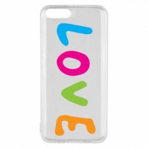 Etui na Xiaomi Mi6 Love, color