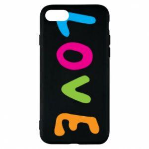 Etui na iPhone 7 Love, color