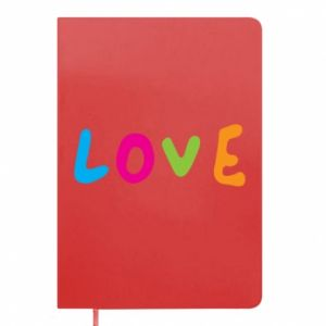 Notes Love, color