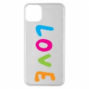Etui na iPhone 11 Pro Max Love, color