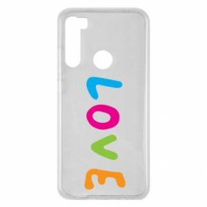Etui na Xiaomi Redmi Note 8 Love, color