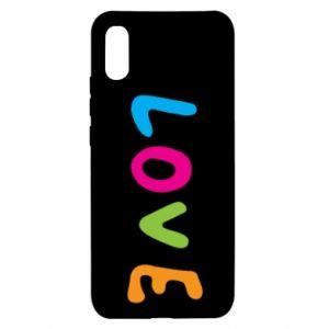 Etui na Xiaomi Redmi 9a Love, color