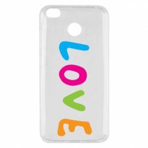 Etui na Xiaomi Redmi 4X Love, color