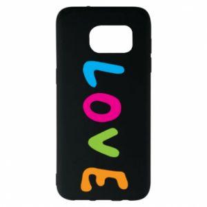 Etui na Samsung S7 EDGE Love, color