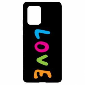 Etui na Samsung S10 Lite Love, color