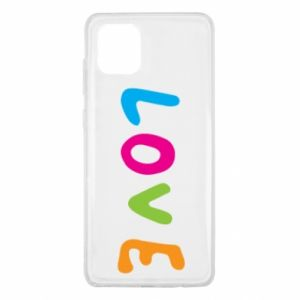 Etui na Samsung Note 10 Lite Love, color