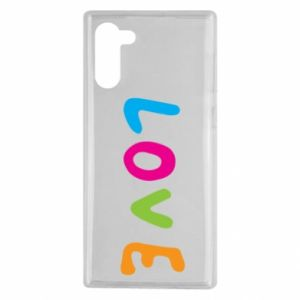 Etui na Samsung Note 10 Love, color
