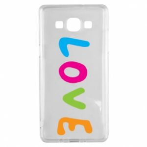 Etui na Samsung A5 2015 Love, color