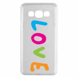 Etui na Samsung A3 2015 Love, color
