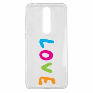 Etui na Nokia 5.1 Plus Love, color