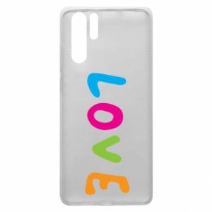 Etui na Huawei P30 Pro Love, color