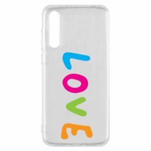 Etui na Huawei P20 Pro Love, color