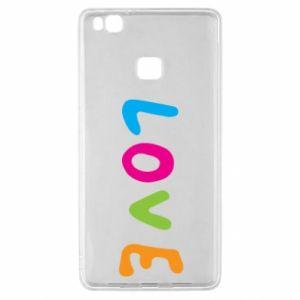 Etui na Huawei P9 Lite Love, color