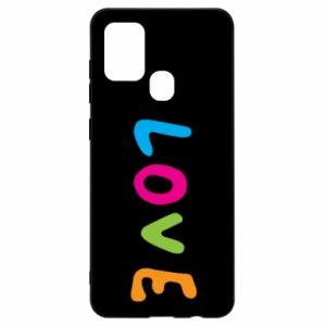 Etui na Samsung A21s Love, color