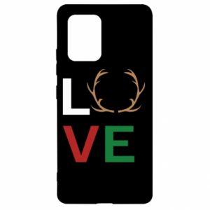 Etui na Samsung S10 Lite Love deer