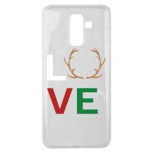 Etui na Samsung J8 2018 Love deer