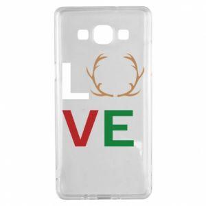 Etui na Samsung A5 2015 Love deer