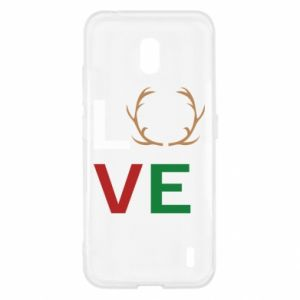 Etui na Nokia 2.2 Love deer