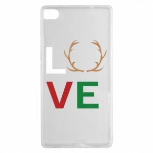Etui na Huawei P8 Love deer