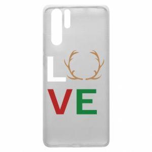 Etui na Huawei P30 Pro Love deer