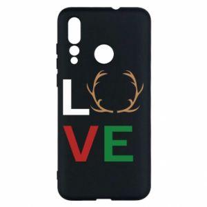 Etui na Huawei Nova 4 Love deer
