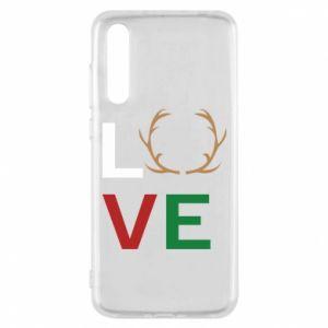 Etui na Huawei P20 Pro Love deer