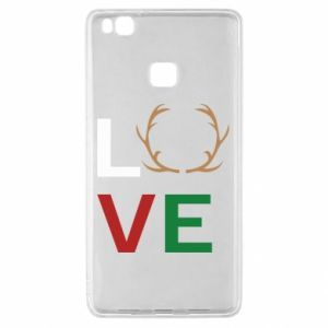 Etui na Huawei P9 Lite Love deer