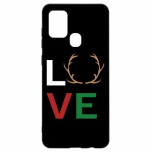 Etui na Samsung A21s Love deer