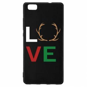 Etui na Huawei P 8 Lite Love deer