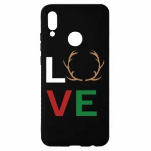 Etui na Huawei P Smart 2019 Love deer