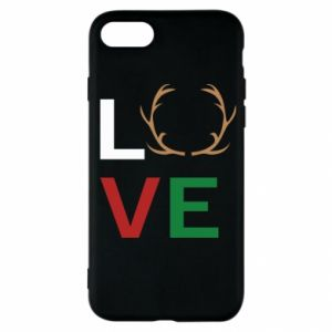 Etui na iPhone SE 2020 Love deer