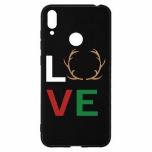Etui na Huawei Y7 2019 Love deer